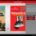 The Ecomonist iPad app