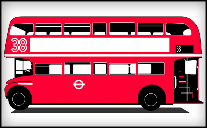 A tribute to the No 38 Routemaster