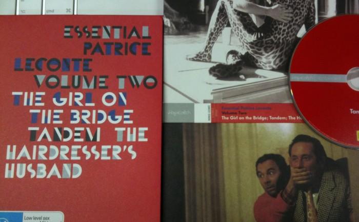 Patrice Leconte Volume Two DVD Boxed set - Le Fille Sure Le Pont, Tandem, The Hairdresser's Husband