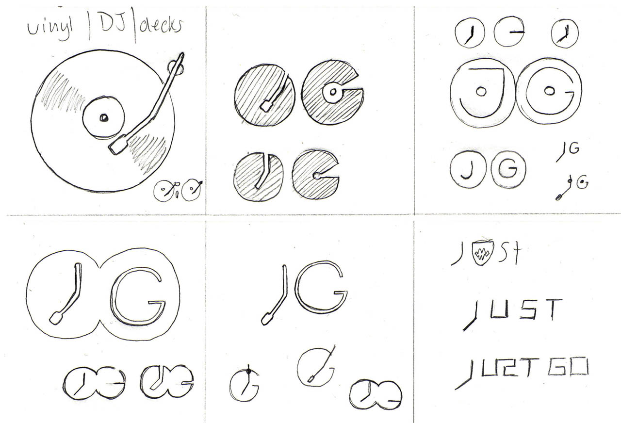 electronic music site logo � sketches graham todman