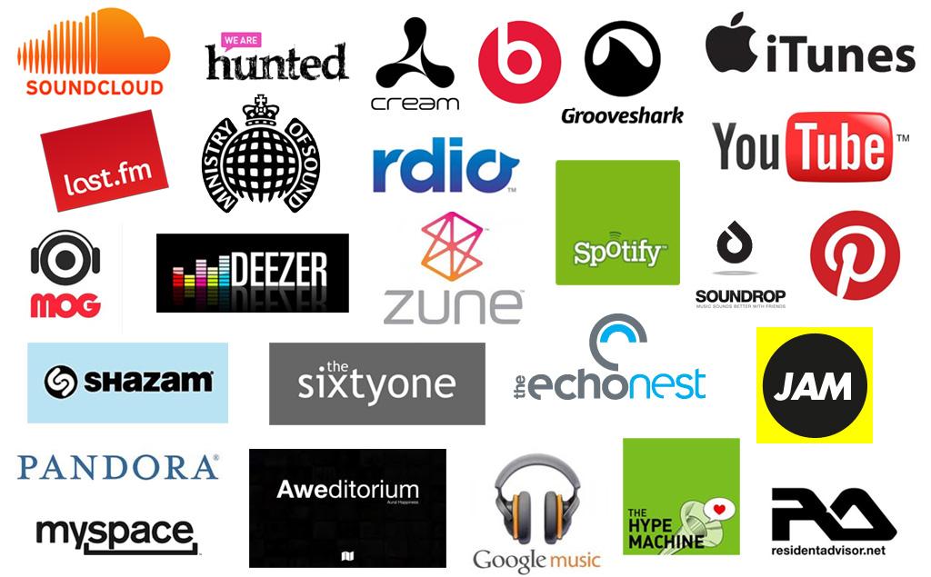 Music Brand Logos