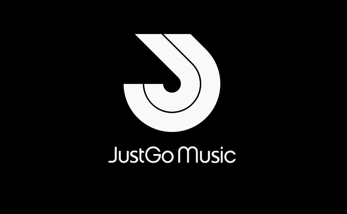 Just Go Music logo design