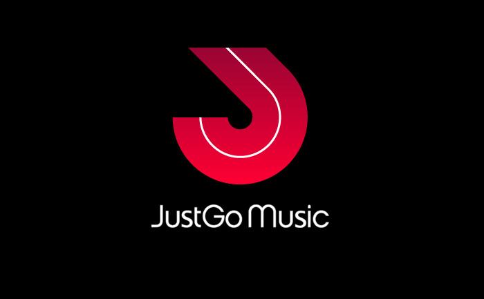 Just Go Music logo design
