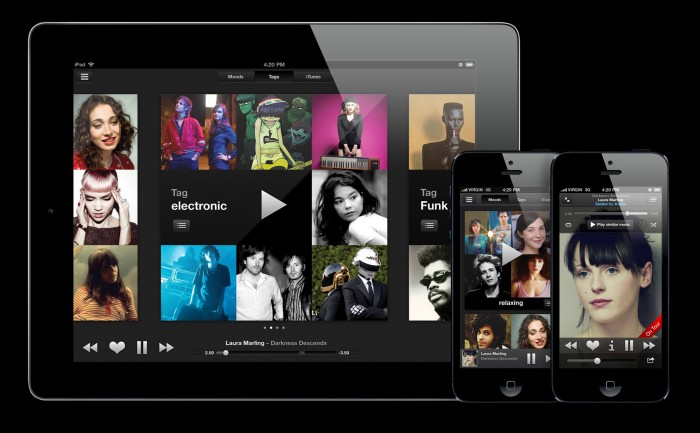 Last.fm Scrobbler playlisting iPad / iPhone music app