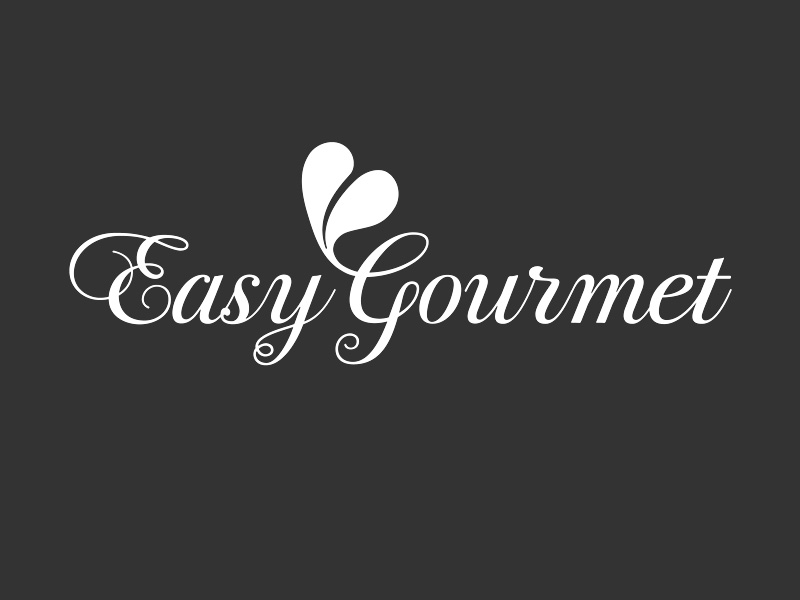 Easy Gourmet Catering logo and branding