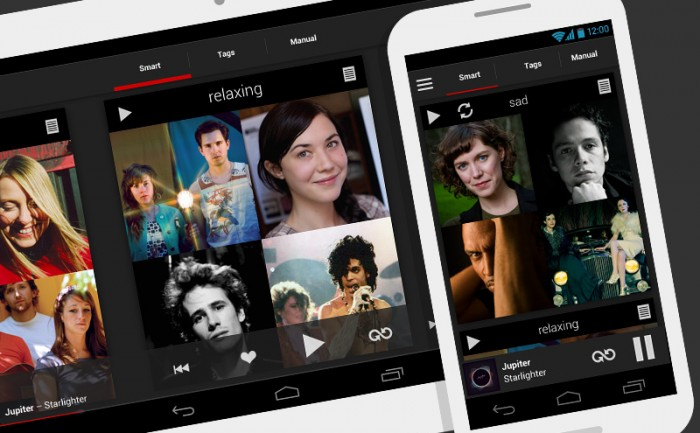 Scrobbler music playlisting iPhone & Android app design