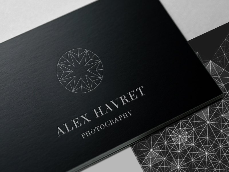 Wedding photographer logo and branding graham todman freelance ui logo 03 card black colourmoves Gallery